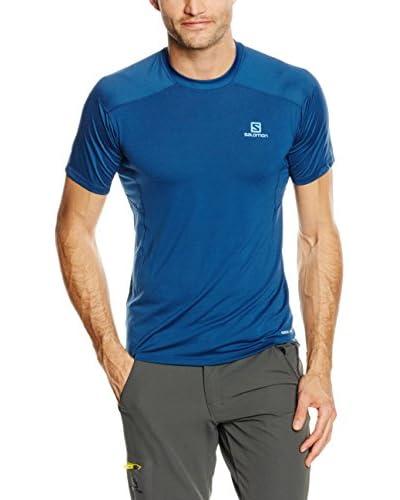 Salomon T-Shirt Manica Corta Minim Evac [Blu]