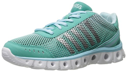 K-Swiss Women's X Lite Athletic CMF Cross-Trainer Shoe, Turquoise/Clearwater, 7 M US