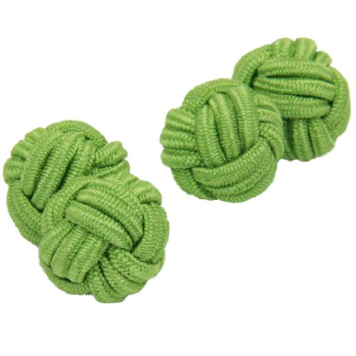 Mono Shade Silk Knot Cufflinks | Cuffs & Co