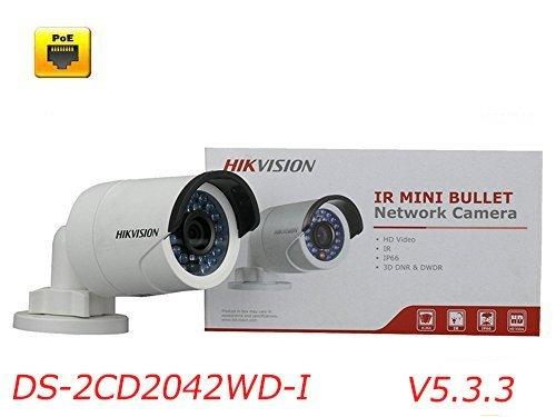 Hikvision USA 4 Megapixel Network Camera - Color DS-2CD2042WD-I