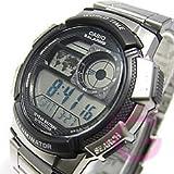 CASIO (カシオ) AE-1000WD-1A/AE1000WD-1A スポーツ ワールドタイム搭載 メタルベルト メンズウォッチ 腕時計 [並行輸入品]