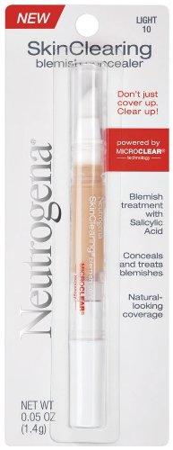 Neutrogena SkinClearing Blemish Concealer, Light 10