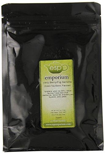 Esp Emporium Green Tea Blend, Very Berry/Fig Sencha, 8.82 Ounce