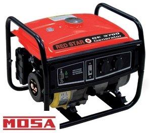Generatore di corrente 2800W Mosa - GE 3700 Red Star