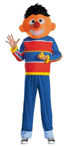 Retro Ernie Adult Xl 42-46 Adult Mens Costume - Disguise