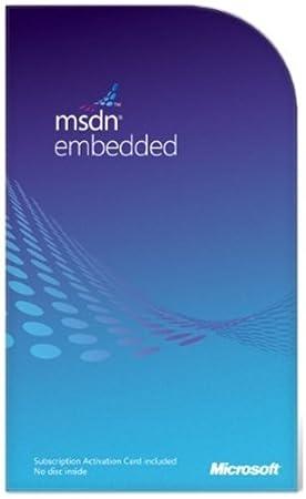 MSDN Embedded Renewal
