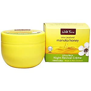 Manuka Honey Wild Ferns evening Revival Cream