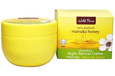 Manuka Honey Wild Ferns Night Revival Cream