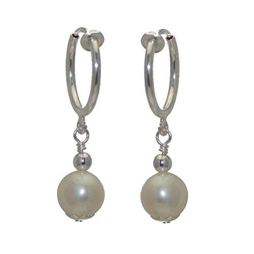 fresca-uno-cerceau-silver-plated-8mm-freshwater-pearl-clip-on-earrings