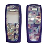 Housing Cover for Nokia 3200 keypad transparent blue [Electronics]
