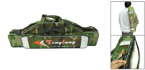 Como Camouflage Army Fabric Fishing Carry Bag