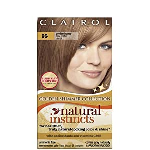 Clairol Natural Instincts, 009G, Golden Honey, Dark Golden Blonde