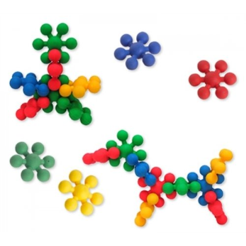 Edushape Ez-Grip Tiny Stars 80 Piece Development Toy