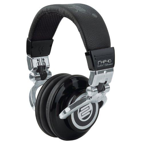 Reloop Rhp-10 Solid Chrome Dj Headphones Black / Silver