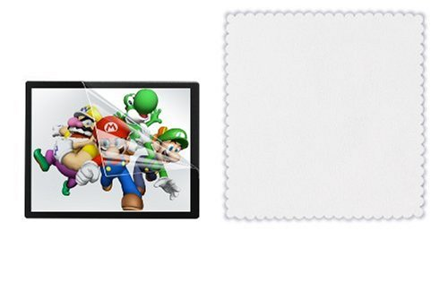 DSi/DS Lite Screen Shield and Cleaning Cloth