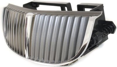 Evan-Fischer EVA17772043055 Grille Assembly Grill Plastic shell and insert Chrome (99 Town Car Grill compare prices)
