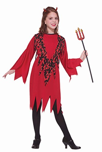 Devil Girl Costume, Child Large