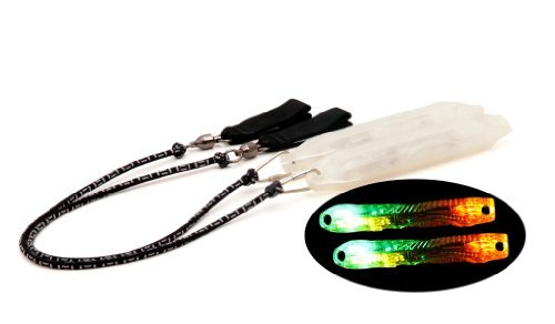 Flowlight Led Poi Set With Crystal Cases