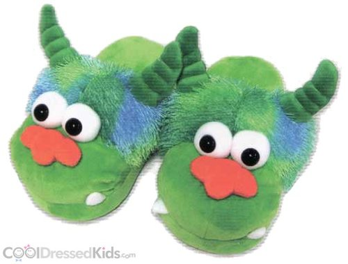 Cheap Plush Funny Monster Slippers (B004WEKOYC)