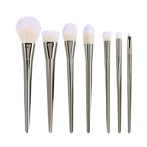 rosennie-7pcs-set-professional-brushhigh-makeup-brushes-kit-silver