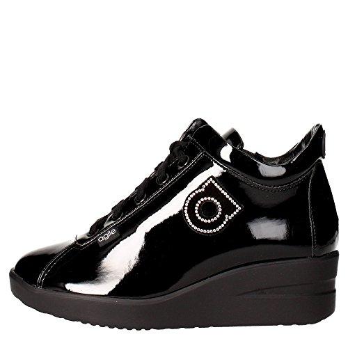 Agile By Rucoline 226 A Sneakers Donna Vernice Nero Nero 41