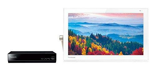 Panasonic 15V型 ポータブル 液晶テレビ 防水タイプ 500GB HDDレコーダー付き プライベート・ビエラ ホワイト UN-15T5-W