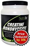 NutraBio Creatine Monohydrate Powder - 2500 Grams