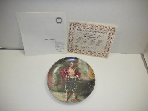 The King and I Collectible Plate - A Puzzlement