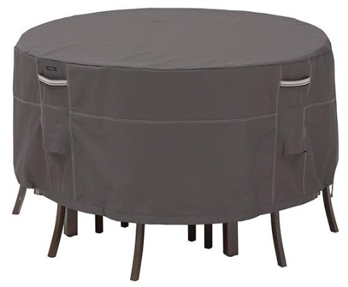 """Furniture Stores San Angelo Tx Ravenna Patio Bistro Table And Chair Set Cover, 24""""H, DARK TAUPE"""
