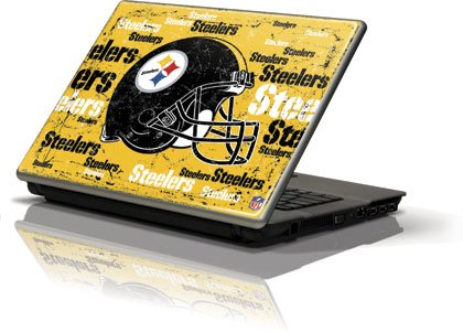 NFL - Pittsburgh Steelers - Pittsburgh Steelers - Blast - Generic 12in Laptop (10.6in X 8.3in) - Skinit Skin from SteelerMania