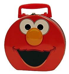 Elmo Hat Box Carry All Tin