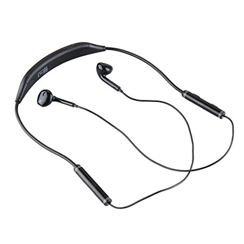 AEC BQ-621 V4.1 + EDR NFC Waterproof Stereo Sport Bluetooth Headset with Mic for Moblie Phones and Other Smart Bluetooth Devices (Black)