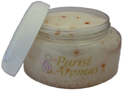 Aromatherapy Bath Salts, Certified Organic And All Natural Ingredients (Cold And Flu Relief)