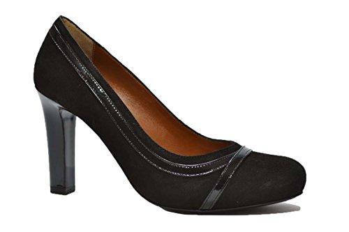 Melluso Decolte' scarpe donna nero V5526 37