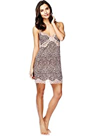 Animal Print Slinky Full Slip