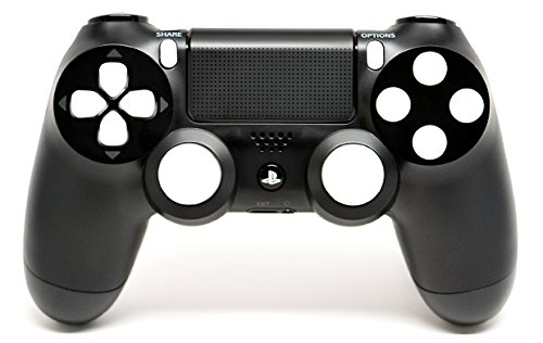 Black/White PS4 Playstation 4 Rapid Fire Modded Controller for Black Ops 3, AW, Ghosts, Destiny, Battlefield: Quick Scope, Drop Shot, Auto Run, Sniped Breath, Mimic, More (Fps Game Controller compare prices)