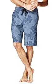 XXXL North Coast Floral Cargo Quick Dry Swim Shorts