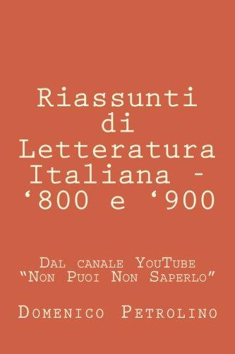 riassunti-di-letteratura-italiana-800-e-900-dal-canale-youtube-non-puoi-non-saperlo