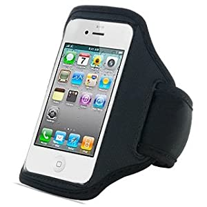 Easy on/off - Sports Armband for Apple iPod Touch (All Generations) MP3 player - Protective cover with Easy access to controls - AAA Products - 12 Month Warranty