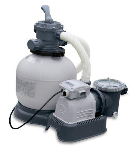 Intex 2800 Gph Krystal Clear Sand Filter Pool Pump Saltwater System