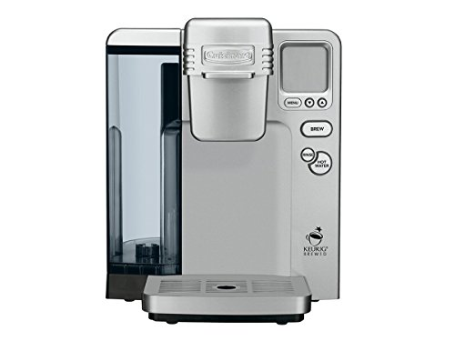 Cuisinart SS-700 Single Serve Brewing System, Silver DISCONTINUED BY MANUFACTURER (Single Serve Brewing System compare prices)