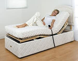 Claire Electric Adjustable Bed with Luxury Memory Foam Mattress