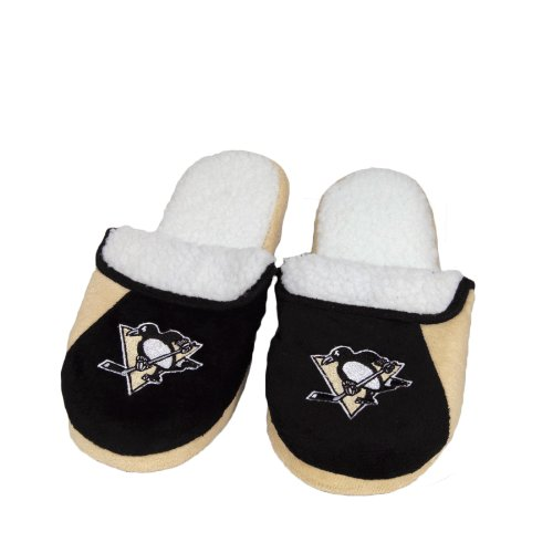 Cheap Pittsburgh Penguins Men's Sherpa Slipper (B00A2AHHDG)