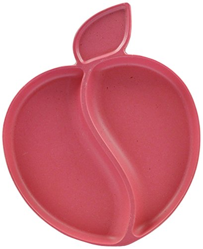 Pacific Baby Apple Plate, Pink - 1