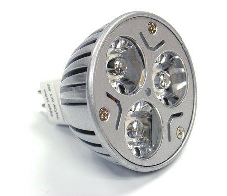 Hossen® Mr16 3X1 Watt Led Spot Light Bulb 20W, White,Landscaping Halogen Replacement