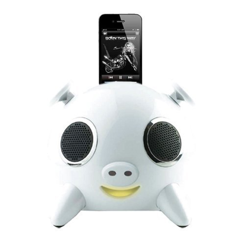 Lanchiya IPIG-WH Ipig White Speaker