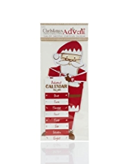 Tear-off Activity Santa Advent Calendar