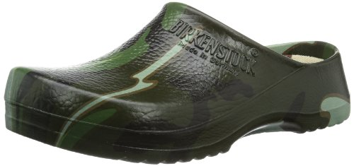 Birki Unisex - Child Super Birki Clogs And Mules Green Grün (green camouflage) Size: 39