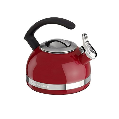 KitchenAid KTEN20CBER 2.0-Quart Kettle with C Handle and Trim Band - Empire Red (Tea Kettles compare prices)