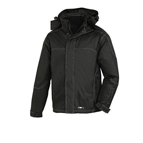 Texxor 4137 - Winterjacke pioppo, giacca a vento imbottita lavoro e acque nere resistenti,